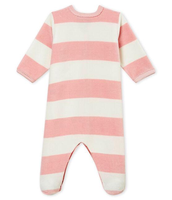 Tutina per bebé femmina rosa Joli / bianco Marshmallow