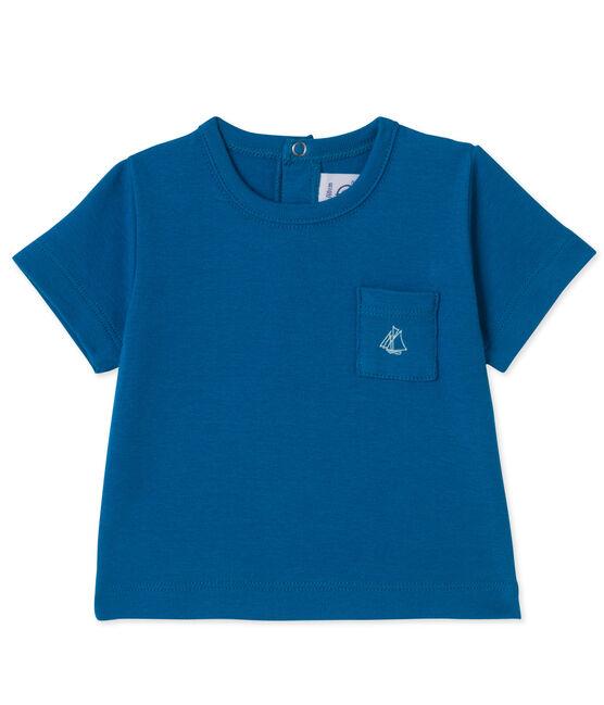 T-shirt bébé garçon blu Delft