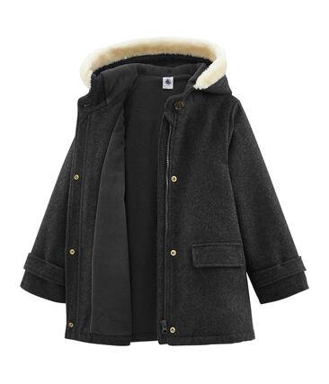 Cappotto bambina grigio Subway