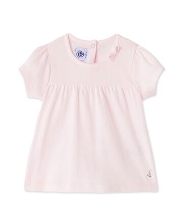 T-shirt per bebè femmina rosa Vienne