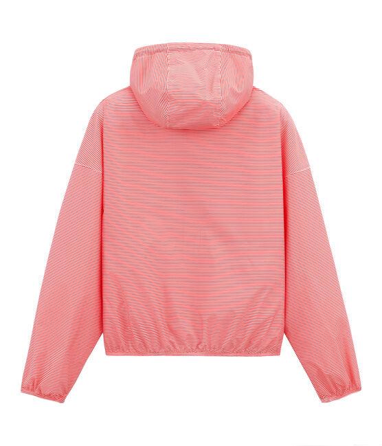 Giacchetta corto unisex rosa Petal / blu Crystal