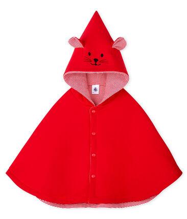 Mantellina bebè unisex rosso Terkuit