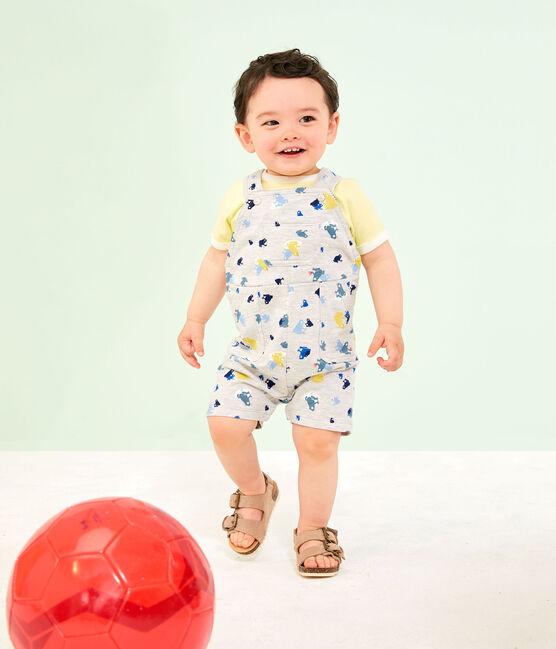 T-shirt maniche corte bebè maschio giallo Sunny