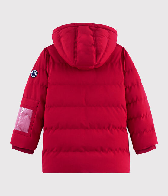 Piumino da sci bambino/bambina rosso Terkuit