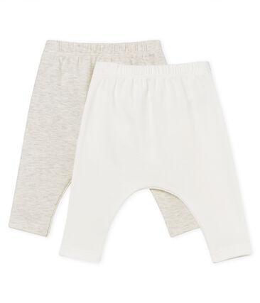 Confezione da 2 leggings bebè unisex