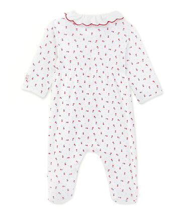 Tutina lunga per bebè bambina stampata