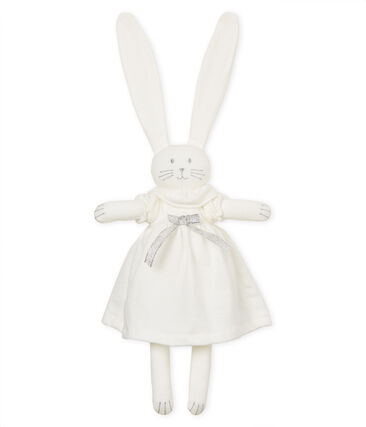 Doudou coniglietto raffinato
