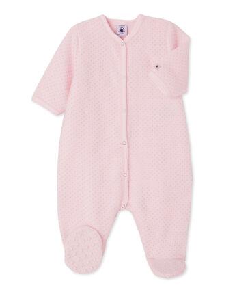 Copripigiama per bebé femmina rosa Vienne / grigio Mistigri