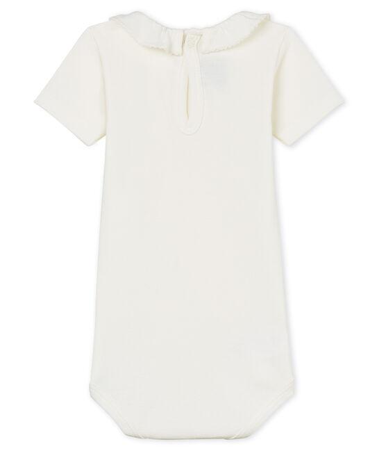 Body mc con collarino neonata bianco Marshmallow