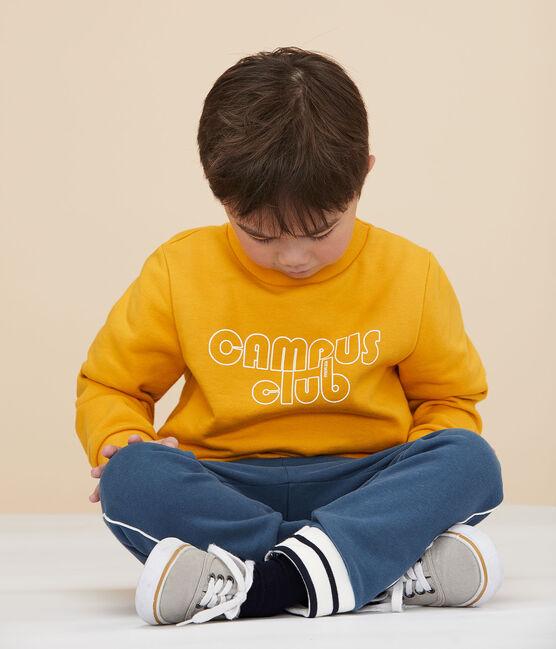 Felpa bambino giallo Boudor