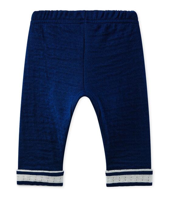 Pantalone bebé bambino blu Medieval