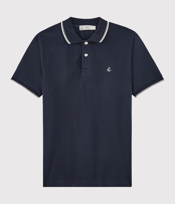 Polo Uomo blu Smoking