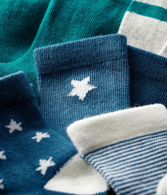 Confezione da 5 paia di calzini bebè lotto .