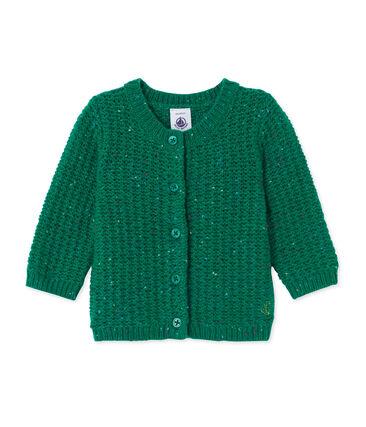 Cardigan per bebé femmina in misto lana