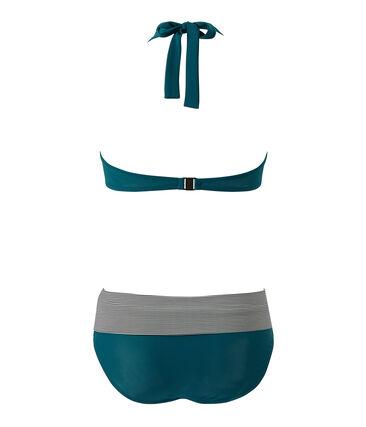 Costume da bagno 2 pezzi donna verde Rivage