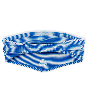 Fascia a bandana per capelli bambina a righe