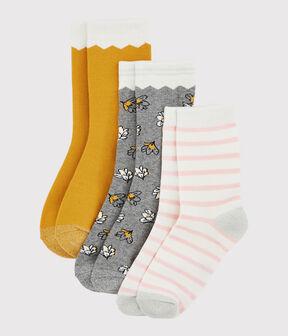 Confezione di paia di calzini ragazza lotto .