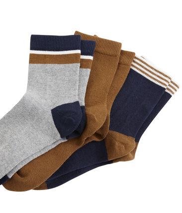Confezione da 3 paia di calzini bambino