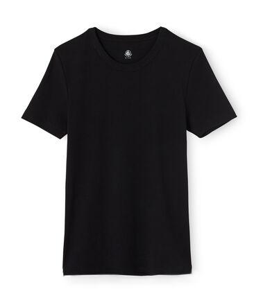 T-shirt uomo nero Noir