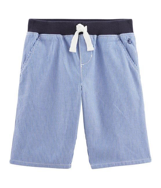 Bermuda bambino blu Surf / bianco Ecume