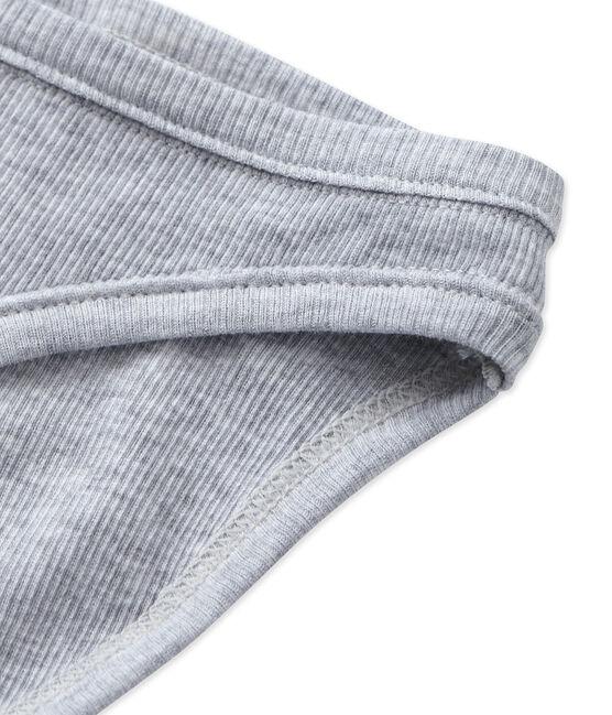 Culotte donna in cotone grigio Fumee Chine
