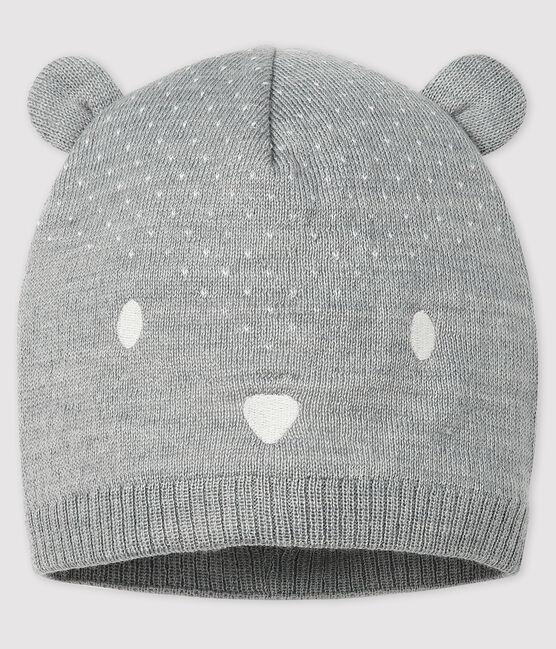 Cappello bebè femmina/maschio grigio Subway