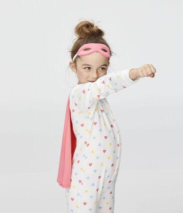 Tutina travestimento da bambina bianco Marshmallow / bianco Multico