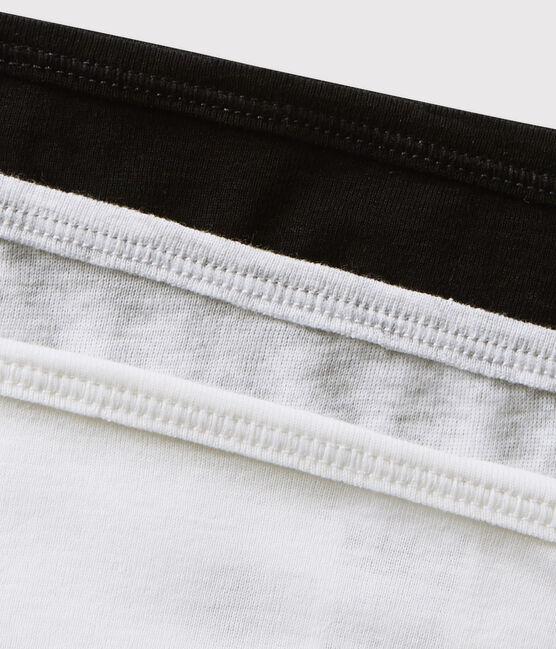 Confezione da 3 slip in cotone leggero Donna lotto .