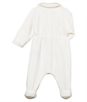 Tutina pigiama bebè unisex velluto