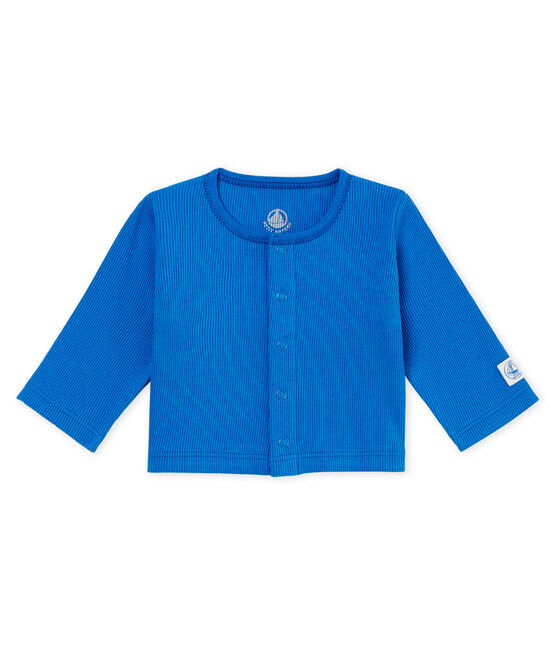 Cardigan bebè unisex blu Cool