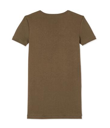 T-shirt donna scollo a V In costina originale 1X1
