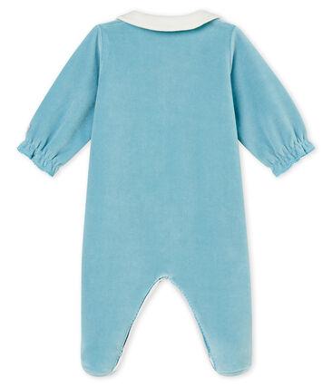 Tutina per bebé femmina blu Mimi
