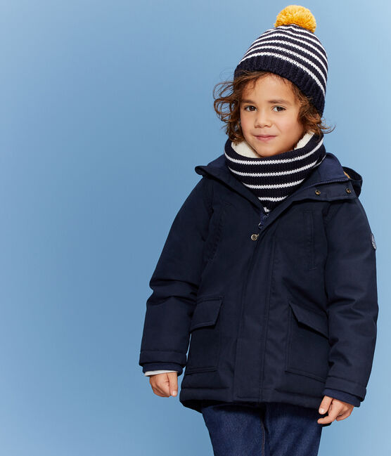 Cappellino bambino blu Smoking / bianco Marshmallow
