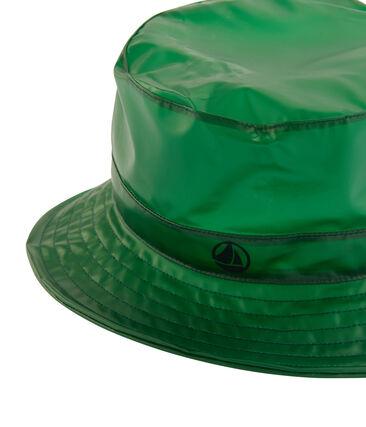 Cappello da pescatore pioggia bambino verde Prado