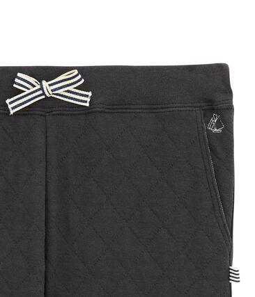 Pantalone in tubique matelassé per bambino