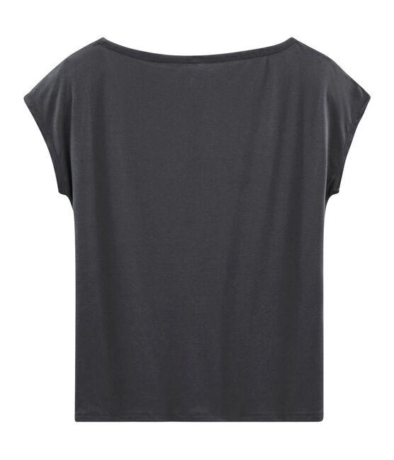 T-shirt maniche corte donna in cotone sea island MAKI
