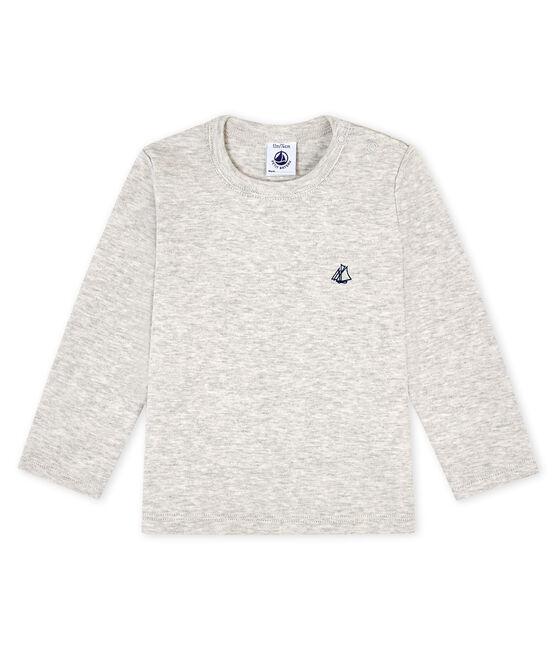 T-shirt a manica lunga bebè grigio Beluga