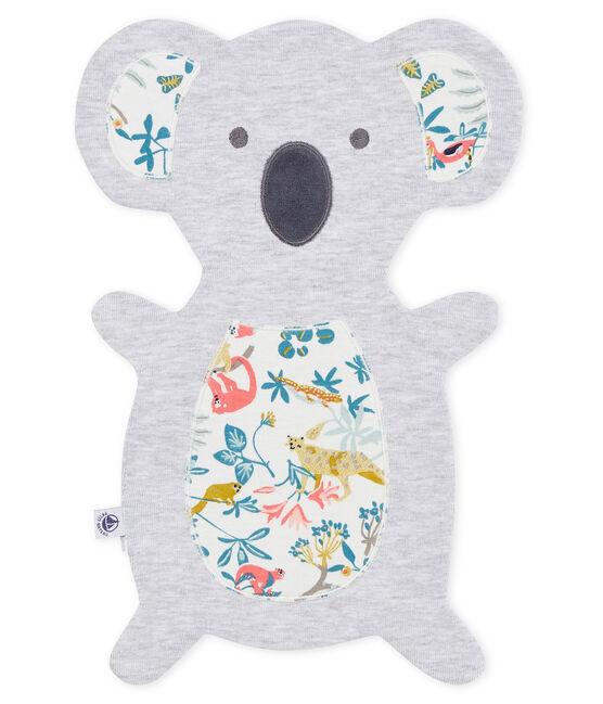 Doudou bebè unisex grigio Poussiere / bianco Multico