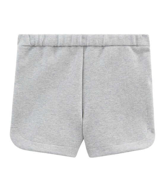 Short bambina grigio Subway