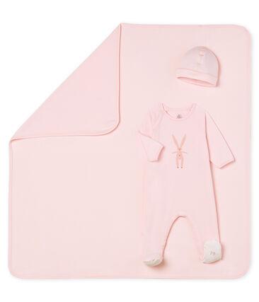 Cofanetto regalo 3 pezzi bebè unisex lotto .