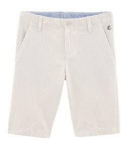 Bermuda bambino beige Beige / bianco Marshmallow