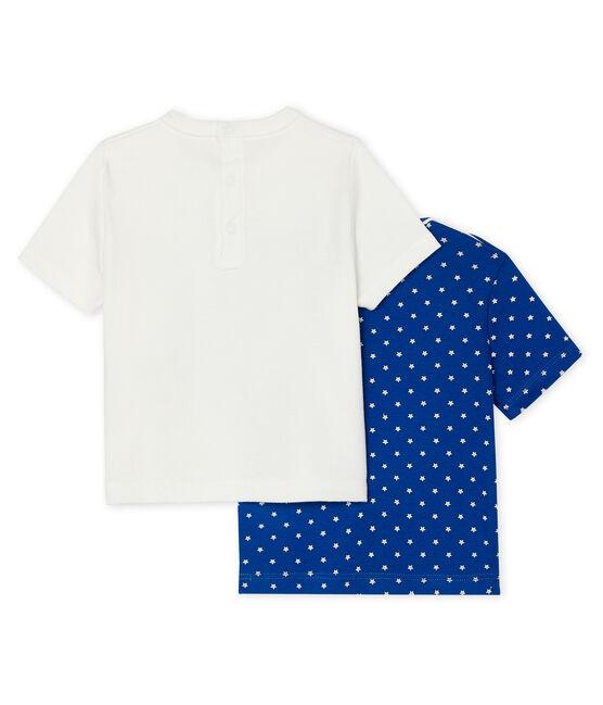 Confezione da 2 t-shirt bebè maschio lotto .