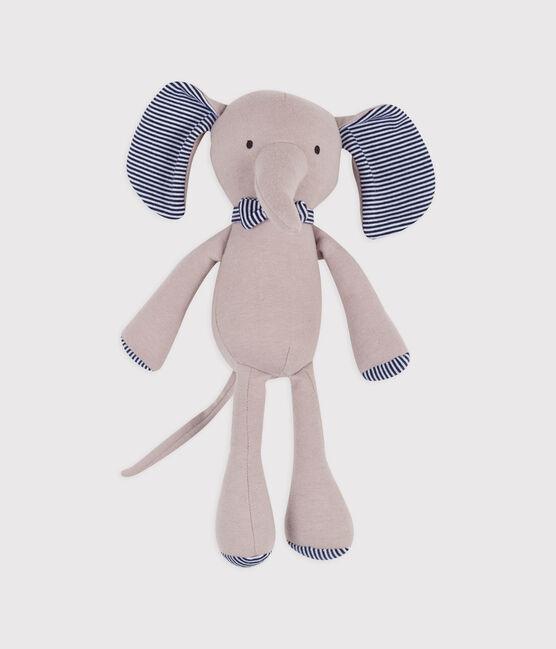 Doudou elefante a costine grigio Concrete