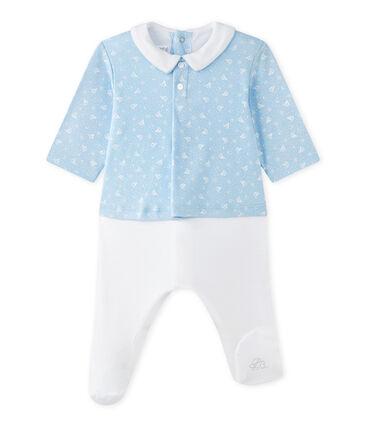 Tutina per bebé maschio doppio tessuto