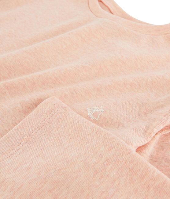 T-shirt a maniche lunghe bambino rosa Aster Chine