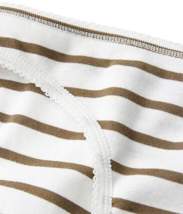 Culotte donna in cotone a righe