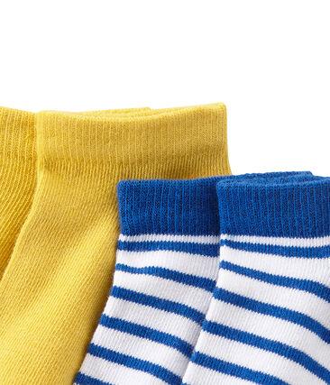 Lotto di 2 paia di calzini bambino