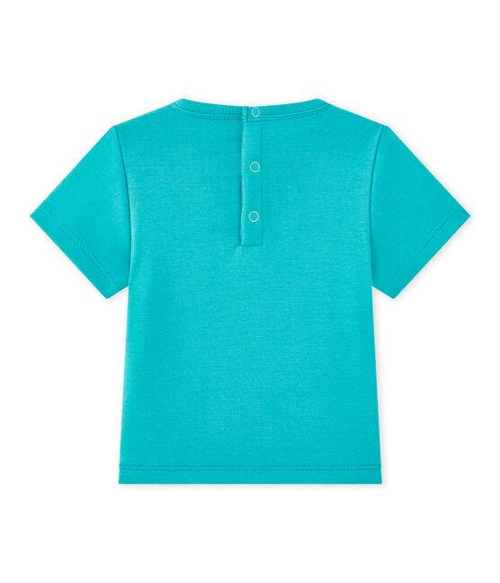 T-shirt bebé bambino maniche corte verde Verger