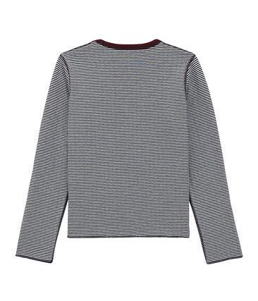 tee-shirtmaniche lunghe reversibile