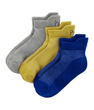 Confezione da 3 paia di calzini bambino unisex